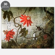 Martin Johnson Heade Passion Flowers and Hu Puzzle