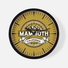 Mammoth Tan Wall Clock