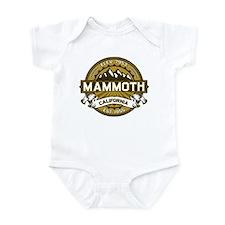 Mammoth Tan Infant Bodysuit