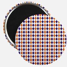 Clemson Argyle Sock Pattern South Carolina  Magnet