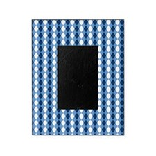 Carolina Blue Argyle Sock Pattern No Picture Frame