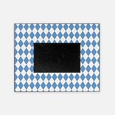Carolina Blue Argyle Sock Pattern No Picture Frame