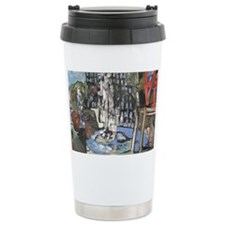 Philadelphia LOVE Park/ Alvins  Travel Mug