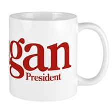Reagan for President T Shirt Red Mug
