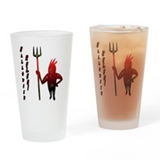 Halloween Rules! Drinking Glass