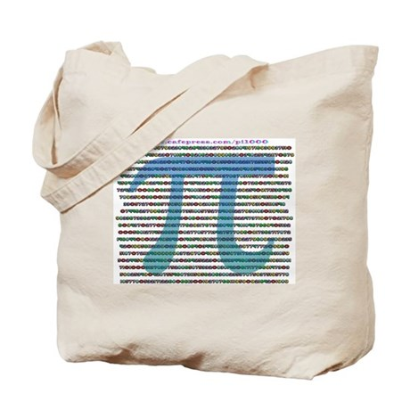 1000 digits of PI - Tote Bag