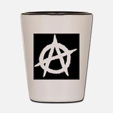 AnaOvalPatchBlack-a Shot Glass