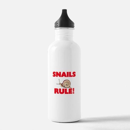 Snails Rule! Water Bottle