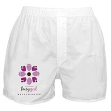 Busy Girl Healthy Life Boxer Shorts