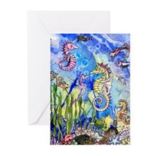 Ocean Life Greeting Cards (Pk of 10)