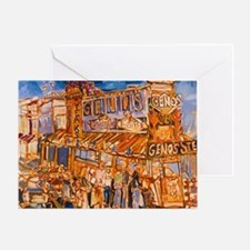 Philadelphia Genos CheeseSteak on 9t Greeting Card