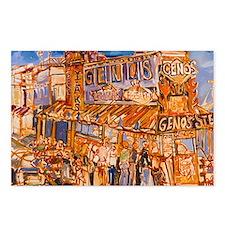 Philadelphia Genos Cheese Postcards (Package of 8)