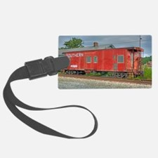 Kernersville Red Caboose Luggage Tag
