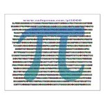 1000 digits of PI - Small Poster