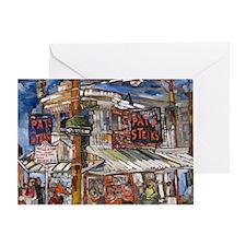 Philadelphia Pats CheeseSteak Greeting Card