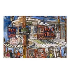 Philadelphia Pats CheeseS Postcards (Package of 8)