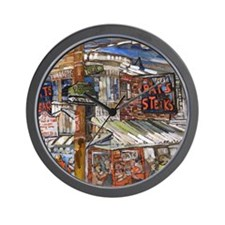 Philadelphia Pats CheeseSteak Wall Clock