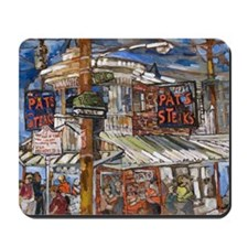 Philadelphia Pats CheeseSteak Mousepad
