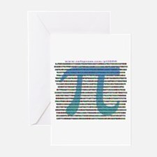 1000 digits of PI - Greeting Cards (Pk of 10)