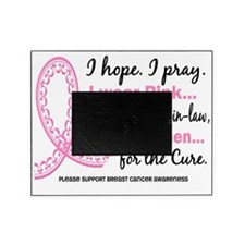 D Hope Pray Breast Cancer Picture Frame