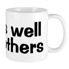 WORKS WELL WITH OTHERS Small Mug