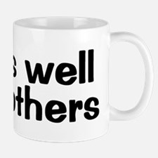 WORKS WELL WITH OTHERS Small Small Mug
