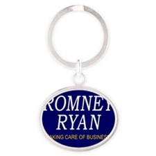 Campaign-RR-Centered Oval Keychain