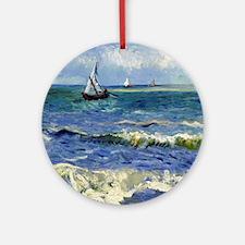 Van Gogh Round Ornament