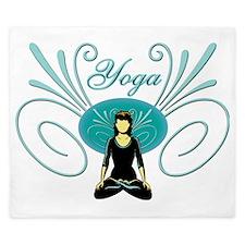 Yoga #3 King Duvet