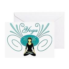Yoga #3 Greeting Card