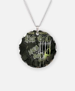 Nick Groff Shower Curtian Necklace