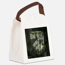 Nick Groff Shower Curtian Canvas Lunch Bag