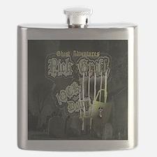 Nick Groff Shower Curtian Flask