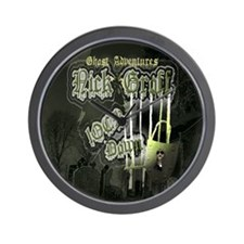 Nick Groff Shower Curtian Wall Clock