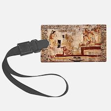 mayan painting Luggage Tag