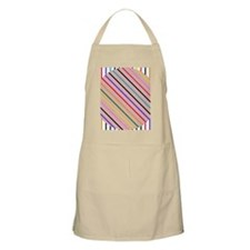 Pink-o in a square Apron