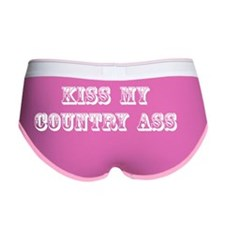 Kiss My Country Women's Boy Brief