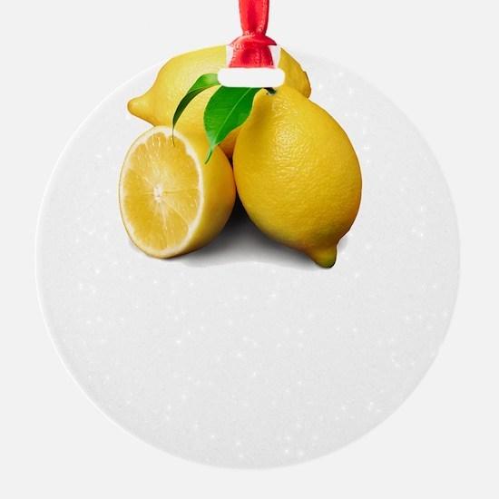 Lemonade Suck Ornament