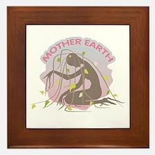 Mother Earth Framed Tile