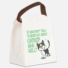catnip Canvas Lunch Bag