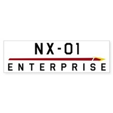 NX-01 Enterprise Dark Car Sticker