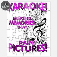 Karaoke Paint Pictures Puzzle