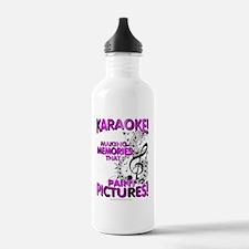 Karaoke Paint Pictures Water Bottle