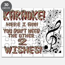 Karaoke Golden Wish Puzzle