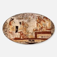 mayan Sticker (Oval)