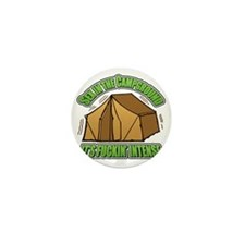 Campground Mini Button