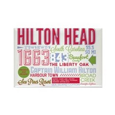 Hilton Head Rectangle Magnet