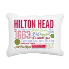 Hilton Head Rectangular Canvas Pillow