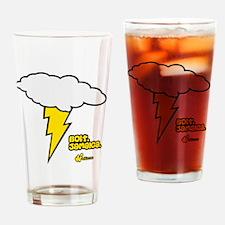 Bolt. Jamaica. Drinking Glass