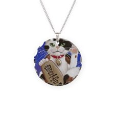 Maneki Neko of Abundance Necklace